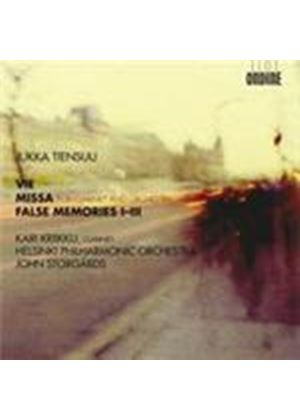 Tiensuu: Vie; Missa; False Memories Nos 1-3 (Music CD)