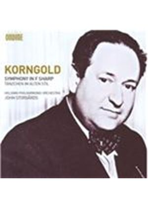 Korngold: Symphony in F sharp (Music CD)