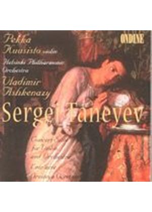 Sergey Taneyev - Concert Suite For Violin And Orchestra (Kuusisto, Ashkenazy) (Music CD)