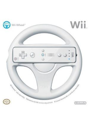 Official Wii Wheel - Wii Remote Not Included (Wii)