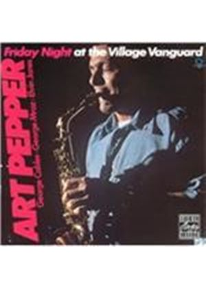 Art Pepper - Friday Night at the Village Vanguard (Live Recording) (Music CD)
