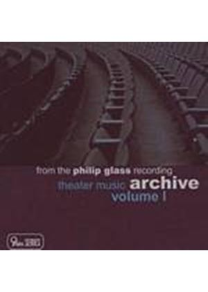 Philip Glass - Theater Music Volume 1 (Music CD)