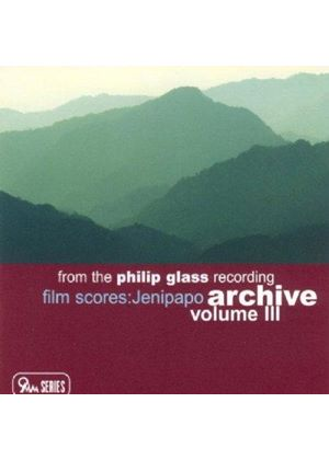 Original Soundtrack - Recording Archives Vol. III: Jenipapo (Glass, Vega)