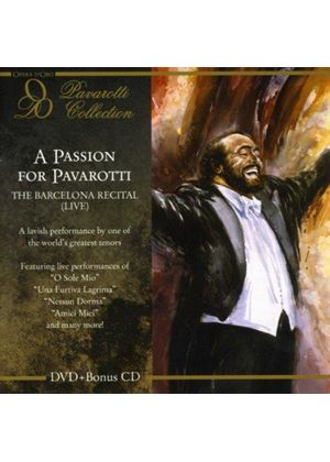 Passion for Pavarotti: The Barcelona Recital (Music CD)