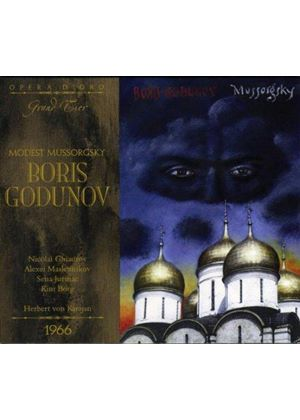 Mussorgsky: Boris Godunov (Music CD)