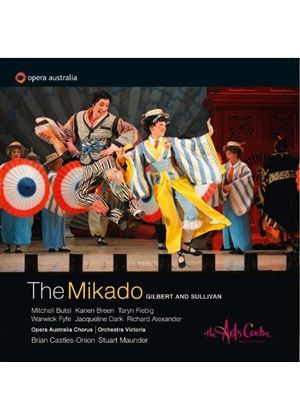 Gilbert & Sullivan: The Mikado (Music CD)