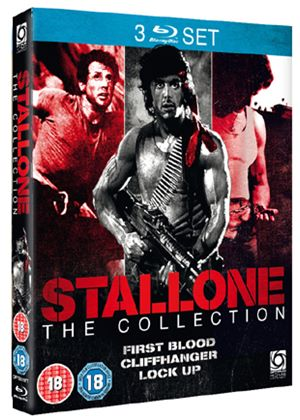Sylvester Stallone Collection (First Blood / Cliffhanger / Lock Up) (Blu-Ray)