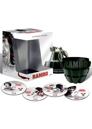Rambo: The Complete Collection (Special Grenade Packaging) (Blu-Ray)