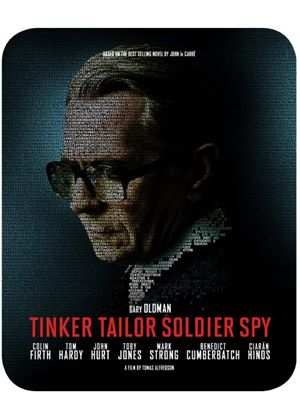 Tinker, Tailor, Soldier, Spy (Limited Edition Steelbook) (Blu-Ray & DVD)