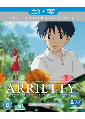 Arrietty - Deluxe Collector's Edition - Double Play (Blu-ray and DVD)