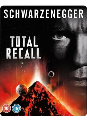 Total Recall - Triple Play (Blu-Ray, DVD and Digital Copy) - Steelbook - Limited Edition