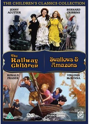 The Railway Children / Swallows And Amazons - Classic Childrens Films (Two Films)