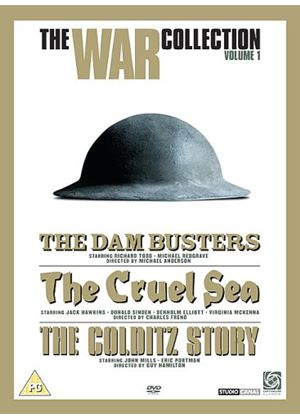 War Box Set 1 (The Colditz Story, The Cruel Sea and The Dam Busters)