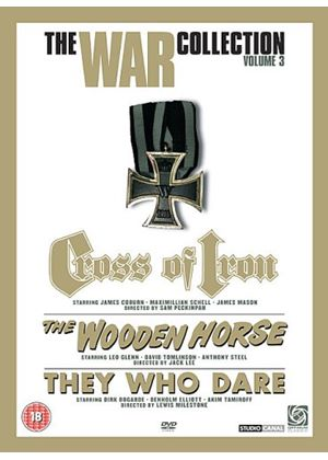War Box Set 3 (Three Discs) (The Wooden Horse / They Who Dare / Cross of Iron)