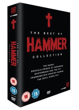 The Best Of Hammer Box Set: The Devil Rides Out / Dracula: Prince Of Darkness / Quatermass And The Pit / The Nanny / Frankenstein Created Woman
