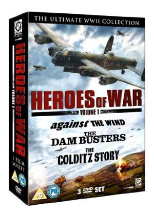 Heroes of War Vol 1 (Dambusters, The/Against The Wind/Colditz Story)