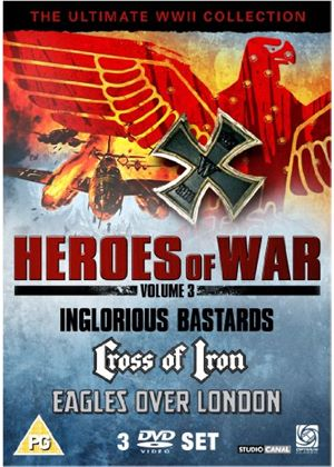 Heroes of War Volume 3 - Inglorious Bastards / Cross of Iron / Eagles Over London