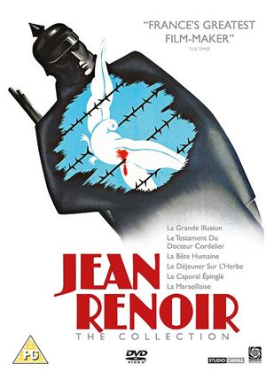 Jean Renoir Collection (La Grande Illusion, Dejeuner Sur Herbe, Le Caporal Epingle, La Marsellaise, Le Testament du Docteur Cordelier, La Bete Humaine)