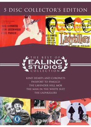 The Best Of Ealing Collection: KIND HEARTS AND CORONETS/THE LADYKILLERS/THE MAN IN THE WHITE SUIT/PASSPORT TO PIMLICO/THE LAVENDER HILL MOB