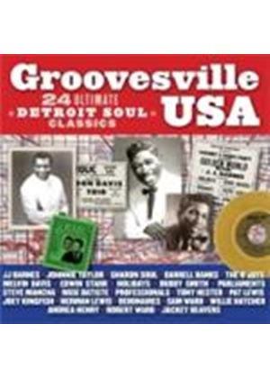 Various Artists - Groovesville USA (24 Ultimate Detroit Soul Classics) (Music CD)