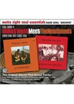New Sounds (The) - Willie & West Meet The New Sounds (Music CD)