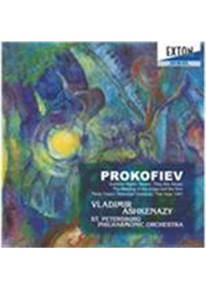 Prokofiev: Summer Night; Seven, They Are Seven; The Meeting of the Volga and the Don; etc. (Music CD)