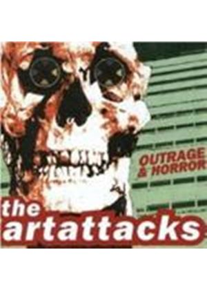 Art Attacks  The - Outrage & Horror (Music Cd)