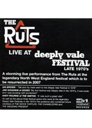 The Ruts - Live At Deeply Vale (Music CD)