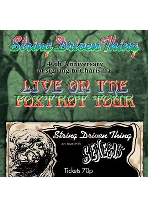 String Driven Thing - Live on the Foxtrot Tour (40th Anniversary) (Music CD)