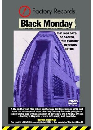 Factory - Black Monday (The Last Days of Factory) (+DVD)