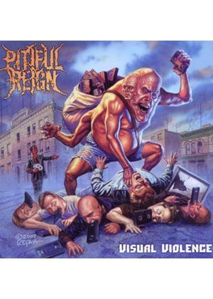 Pitiful Reign - Visual Violence (Music CD)