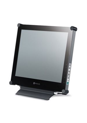 AG Neovo X-17 17 inch NeoV Glass Pro LCD DVI Monitor - Black (Analogue, Digital, S-Video, CVBS, 1280x1024, 3000:1 DCR, 3ms, 250cd/m²)