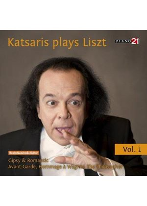 Katsaris Plays Liszt, Vol. 1 (Music CD)