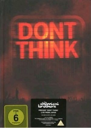 The Chemical Brothers - Don't Think (Live Recording/CD+DVD) (Ltd Edition Packaging)