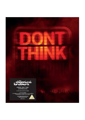 "The Chemical Brothers - Don't Think (limited DVD+CD (in 10"" size casebound book)"