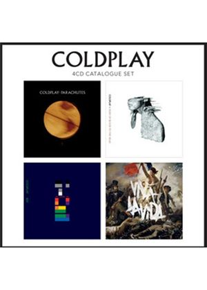 Coldplay - 4 CD Box Set (Parachutes / Rush of Blood to the Head / X&Y / Viva La Vida) (Music CD)