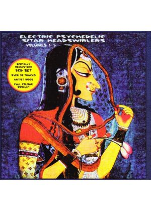 Various Artists - Electric Psychedelic Sitar Headswirlers Vol.1-5 (Music CD)