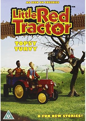 Little Red Tractor Topsy Turvy