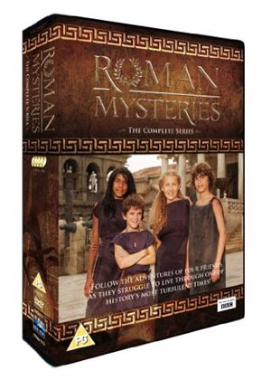 Roman Mysteries - The Complete Series (4 Disc Box Set)