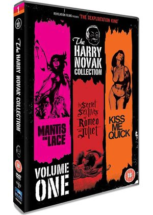 The Harry Novak Collection - Volume 1 (Mantis In Lace, The Secret Sex Lives Of Romeo & Juliet, Kiss Me Quick)