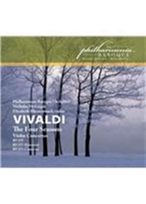 Vivaldi: The Four Seasons; Violin Concertos (Music CD)