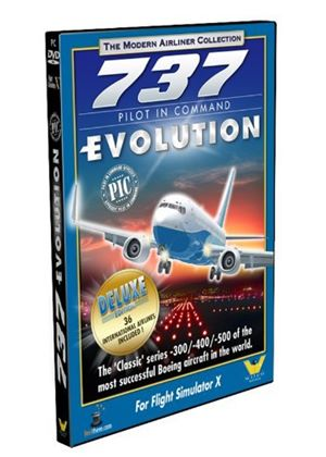737 Pilot in Command Evolution Deluxe Edition (PC DVD)