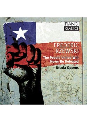 Ursula Oppens - People United Will Never Be Defeated! (The People United Will Never Be Defeated) (Music CD)