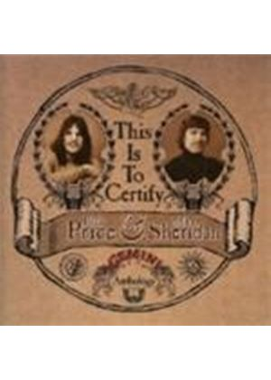 Rick Price & Sheridan - This Is To Certify (The Gemini Anthology) [Remastered]