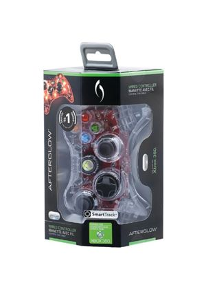 PDP Afterglow Wired Xbox360 Controller with SmartTrack Technology - Green (Xbox 360)