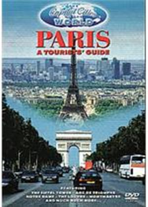 Capital Cities Of The World - Paris - A Tourists Guide