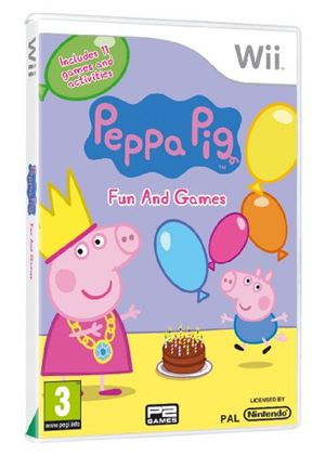 Peppa Pig - Fun and Games (Wii)