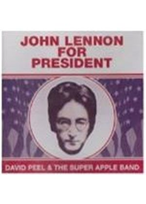 David Peel & Apple Band - John Lennon For President (Music CD)