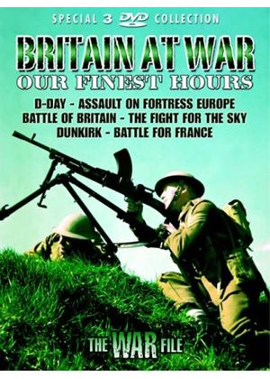 Britain At War - Our Finest Hours (Box Set) (Three Discs)