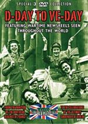 D-Day To VE-Day (Box Set) (Three Discs)